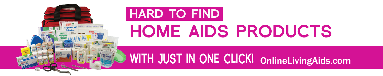 Hard to find home aids products with just in one click!